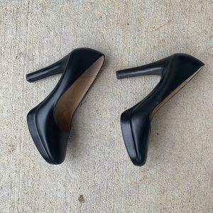 Michael Kors Black Heels Size 5 1/2 M